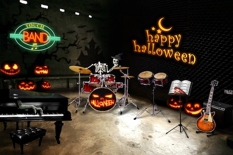 Touch Band : Halloween screenshot-1