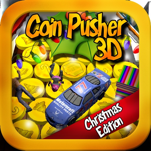 Coin Pusher 3D - Christmas Edition