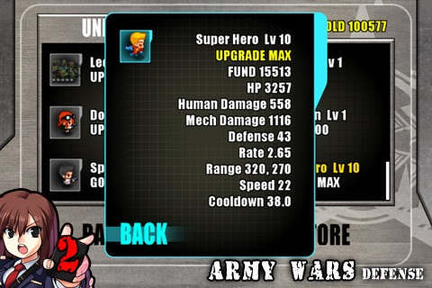 Army Wars Defense 2+