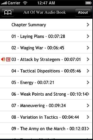 Audio Book: Sun Tzu Art Of War Read by Paul Sze screenshot-4
