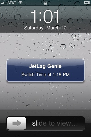 JetLag Genie screenshot-3