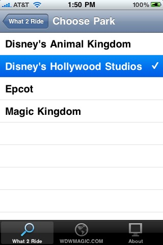WDW What-2-Ride Walt Disney World Edition screenshot-4
