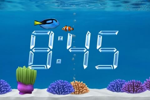 Aquarium Clock screenshot-1