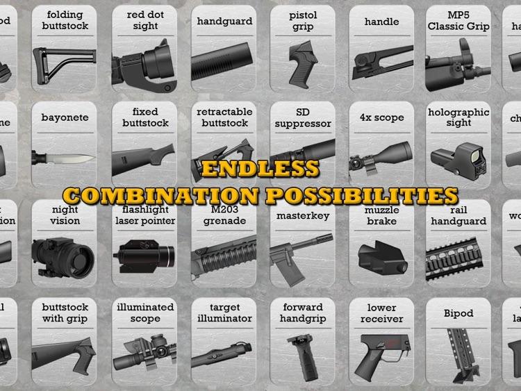 Gun Builder HD screenshot-4