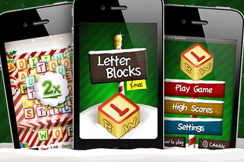 Letter Blocks 3D Christmas - Xmas Word Game with Vocabulary in 5 Languages screenshot-4