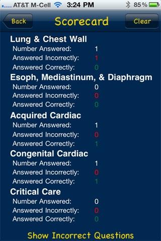 CardioThoracic Study Questions screenshot-4