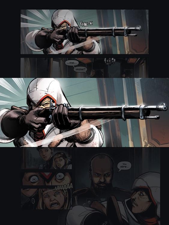 Assassin's Creed Comics screenshot-3