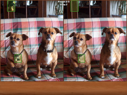 Dogs Spot the Difference screenshot