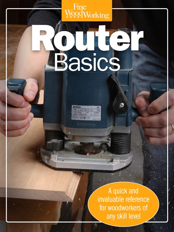 Router Basics from Fine Woodworking