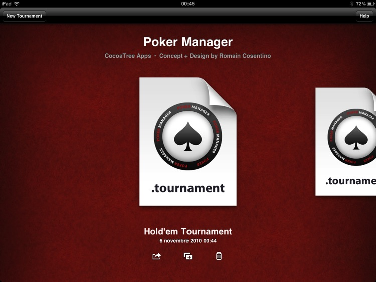 Poker Manager for iPad screenshot-2