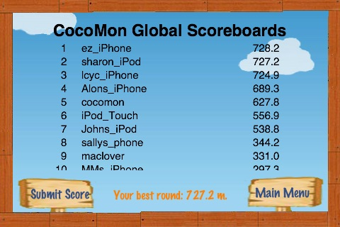 Air CocoMon LITE: Free Flight of the Monkey Coconut screenshot-4