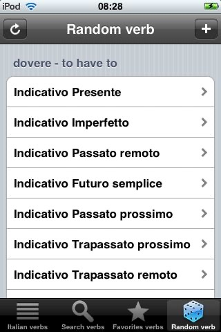 Italian Verbs Free screenshot-4