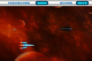 Space War Game HD Lite screenshot two