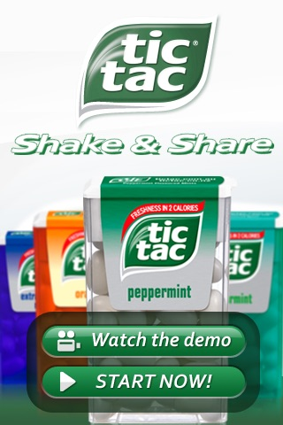 Tic Tac® Shake & Share screenshot-0