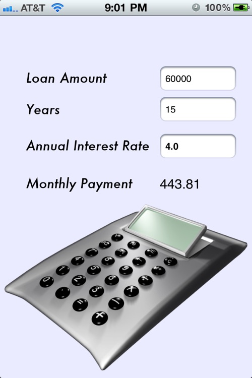 Free Monthly Payment Calculator