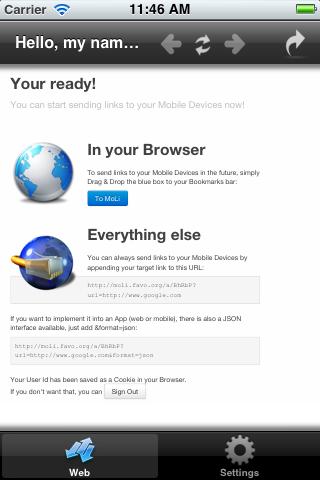 Mobile Link - náhled