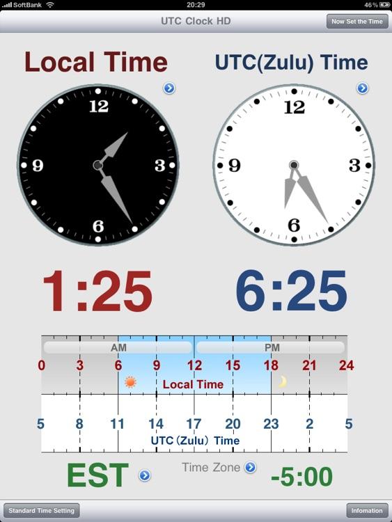 UTC Clock HD
