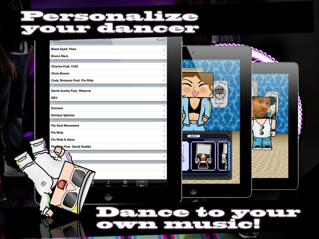 Tap 2 Dance Lil' Urban Dancer Screenshot