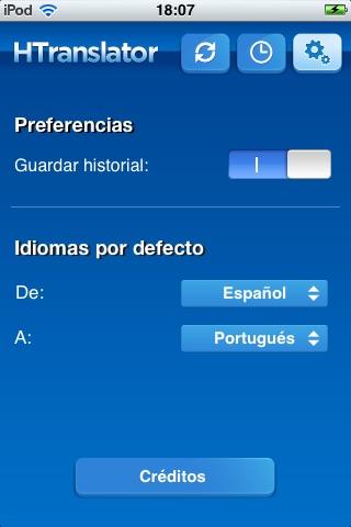 Htranslator - Free language translator screenshot-3