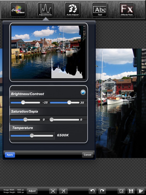Iris Photo Suite for iPad screenshot-3