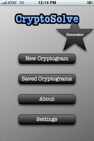 CryptoSolve: Generator
