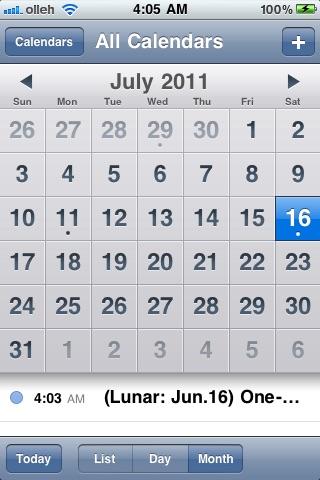 Easy Lunar Event screenshot-4