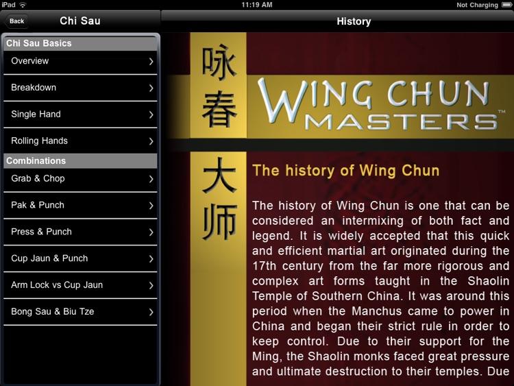 Wing Chun Masters - iPad Version screenshot-3