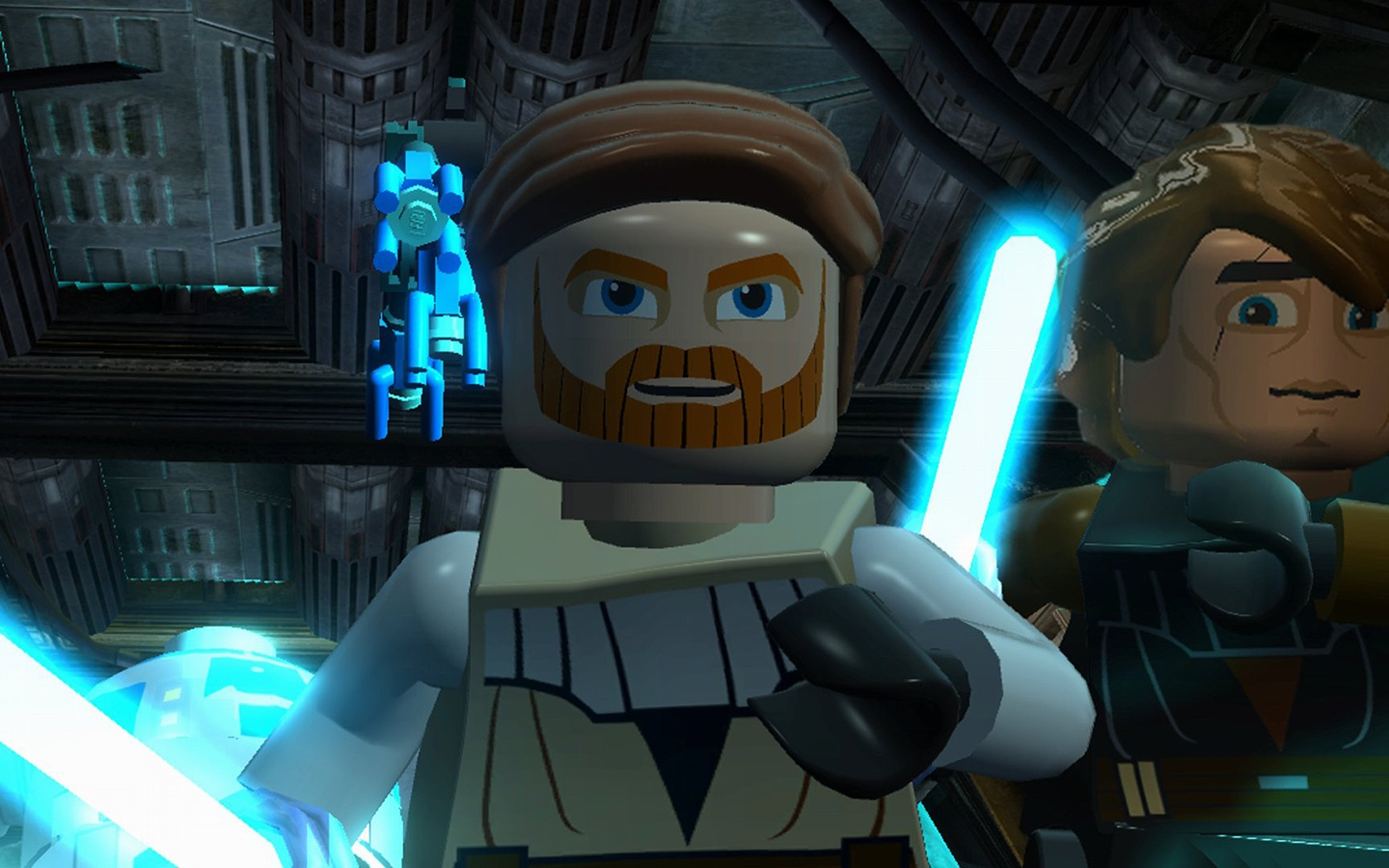 Screenshot do app LEGO Star Wars III: The Clone Wars