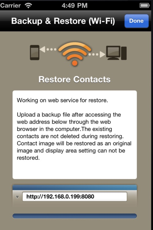 Contacts Air Backup (Backup, Restore, Export) screenshot-3