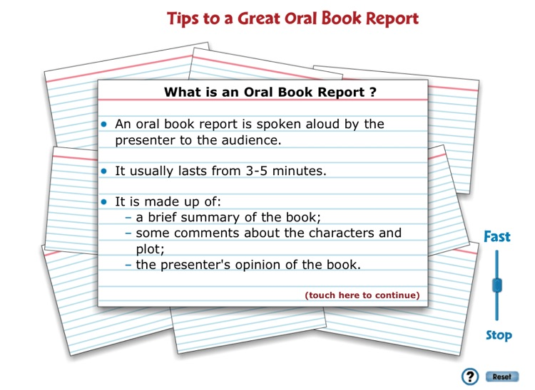 5 minute oral book report esl book review ghostwriter websites for mba