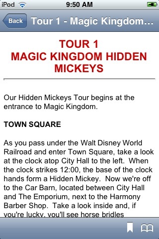 Walt Disney World Secrets Notescast screenshot-3
