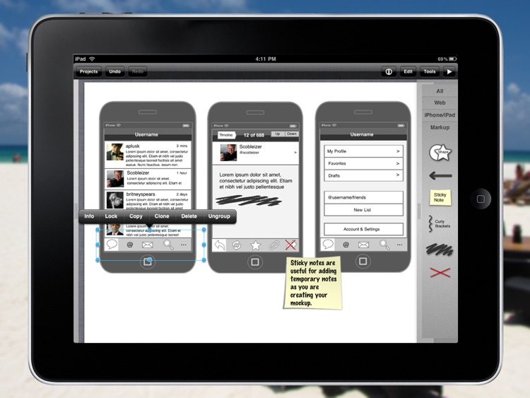 iMockups for iPad screenshot-0
