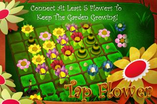 Tap Flower Lite screenshot one