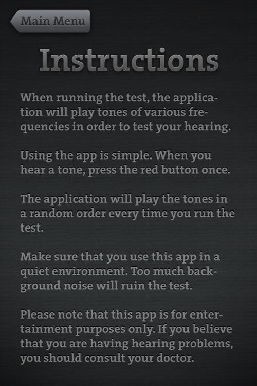 Test Your Hearing screenshot-3