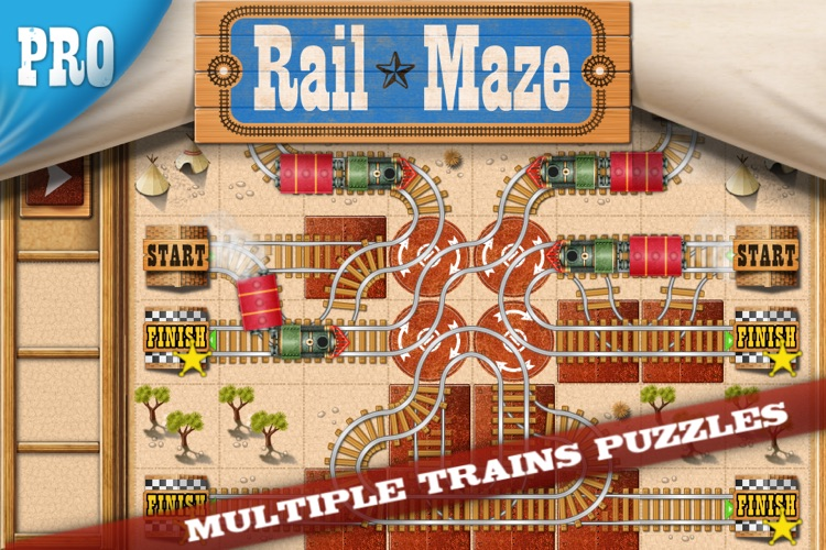 Rail Maze Pro screenshot-0