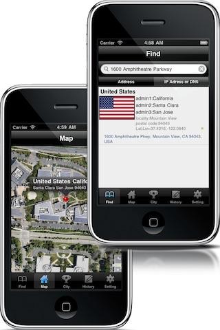 LocationFinder (Address, Ip, DNS)