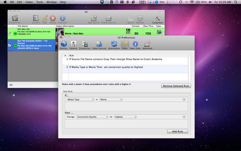 iVI Screenshot