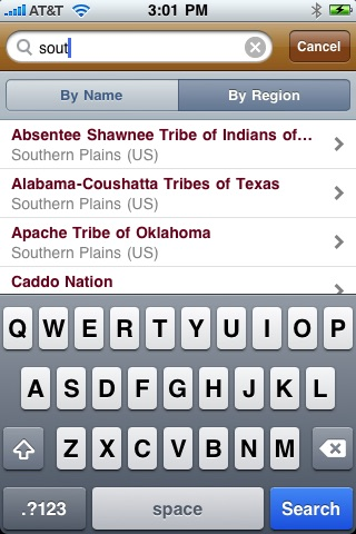 First Peoples of North America for iPhone and iPod Touch