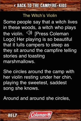 Coleman® Campfire Tales