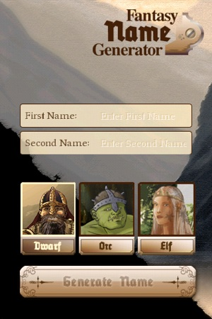 Fantasy Name Generator on the App Store