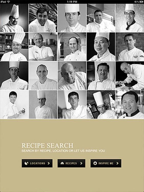 InterContinental Kitchen Cookbook