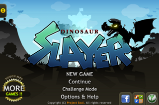 Dinosaur Slayer Lite Screenshot on iOS