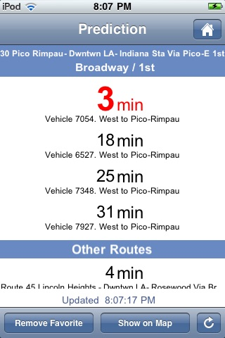 Where's my LA Metro Bus? screenshot-3