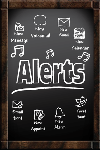 101 Free Alerts - Change your text tone, new email alert, new voicemail alert and more screenshot one