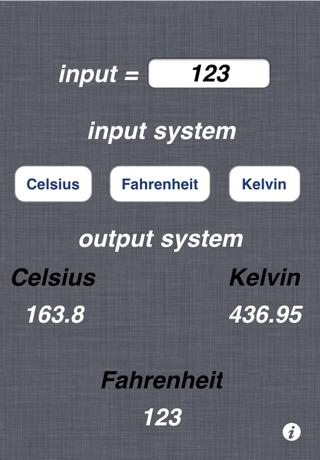 Celsius Kelvin Fahrenheit Converterのおすすめ画像1