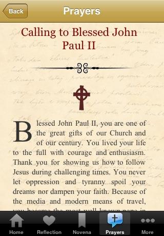 eVotions - Bl. John Paul II screenshot-3