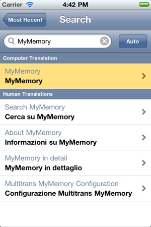 mymemory translate on the app store