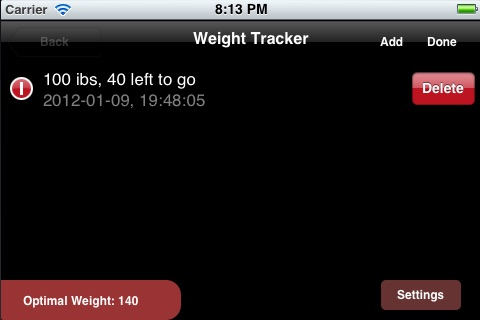 Rapid Weight Loss Diet App screenshot-3