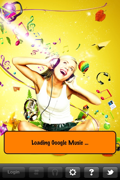 App for Google Music