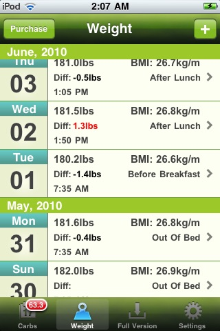 Carb Master Free - Daily Carbohydrate Tracker screenshot-4